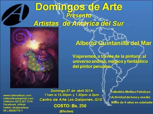 Alberto Quintanilla 27 de abril