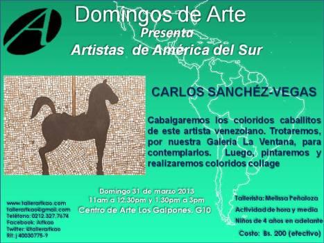 Carlos Sanchez Vegas Domingo 30 de marzo