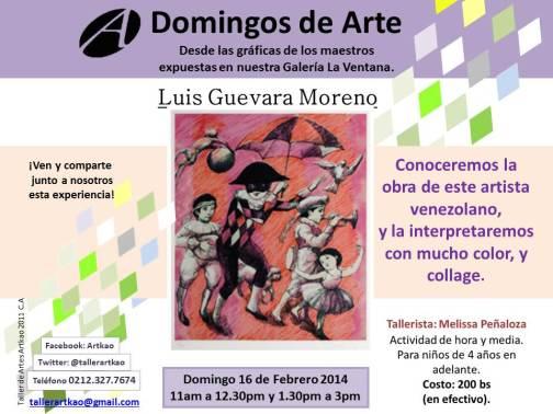 domingo de arte Guevara Moreno 16 DE FEBRERO