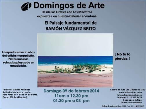Domingos de Arte 09 de febrero de 2014