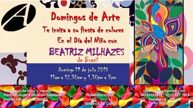 Domingos de Arte 19 julio 2015 Milhazes