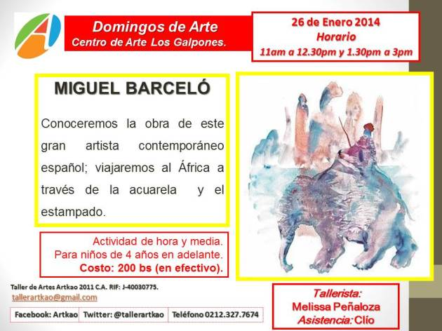 Españoles 26 de enero 2014  Barceló