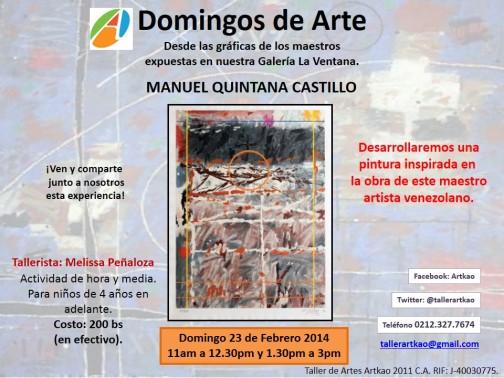 Manuel Quintana Castillo 23 de febrero