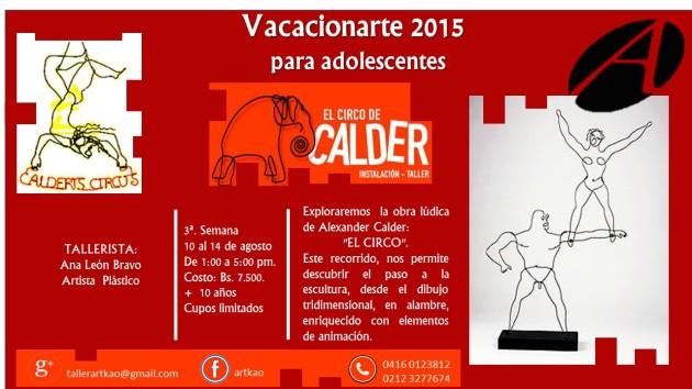 TALLER circo de Calder