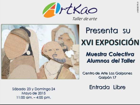 XVI exposición mayo 2015